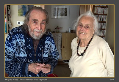 1st May 2013 - George and Pat Todd