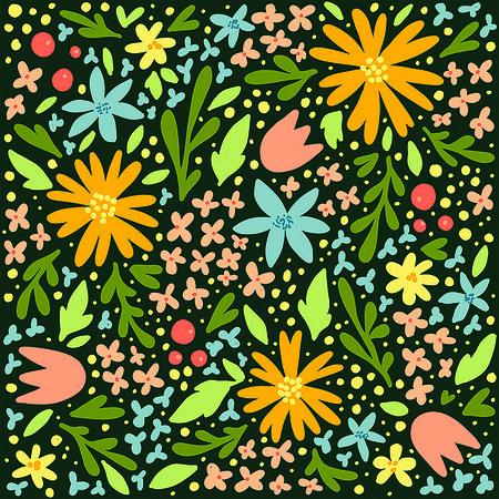 All the happy flowers Ilze Lucero