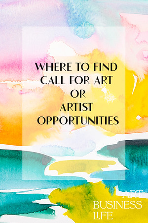 How to find call for art