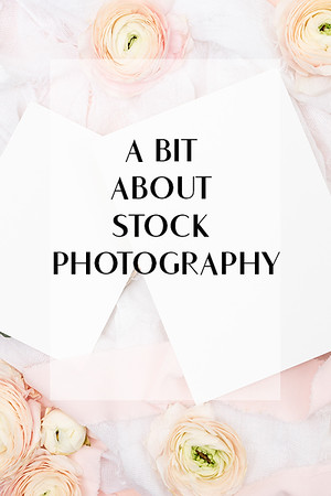 A bit about stock photography