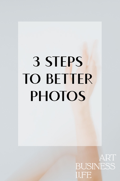 3 steps to better photos