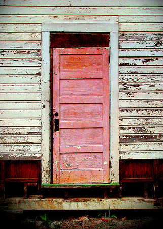 Hungarian Settlement schoolhouse, Albany, Louisiana. 2004.
