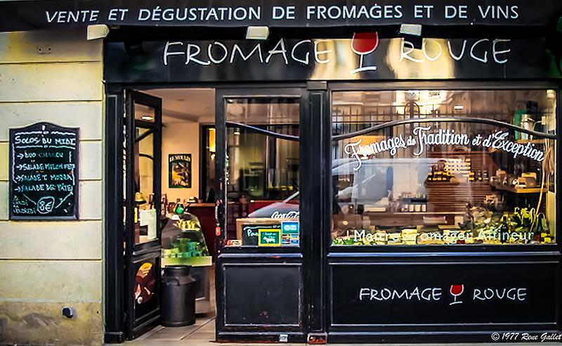 Paris Wine & Cheese
