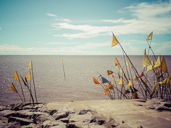 Atlantic Ocean, Nickerie, Surinam