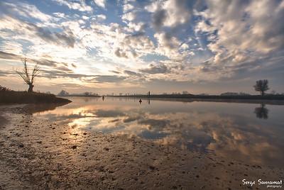 river De Lek, Tull en 't Waal, Netherlands
