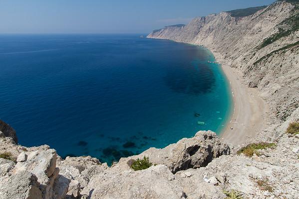 Platia Ammos beach, Kefalonia, Greece