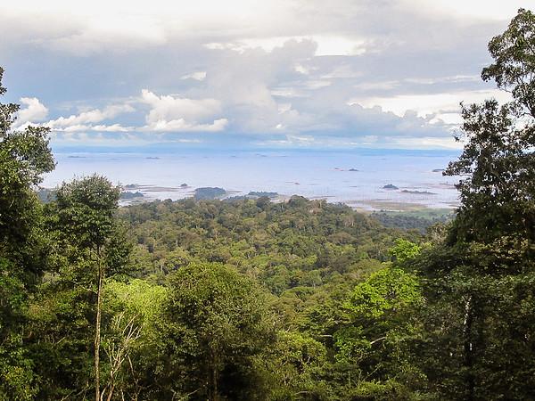 Brownsberg, Brokopondo lake, Surinam