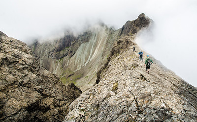 Adventures in the Cuillin mountains - Scotland