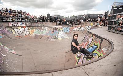 Dominic Wagner at Roskilde Festival - Roskilde, Denmark