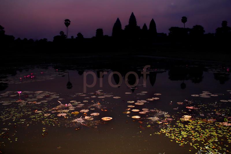 Angkor Wat, Dawn (Cambodia)