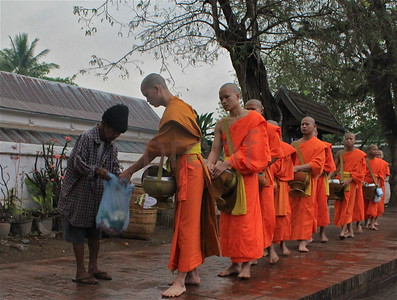 Laos (Luang Prabang): Ancient royal capital, stunning...