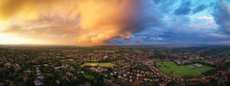 Heavenly Sunset - by Jan Sedlacek - www.digitlight.co.uk