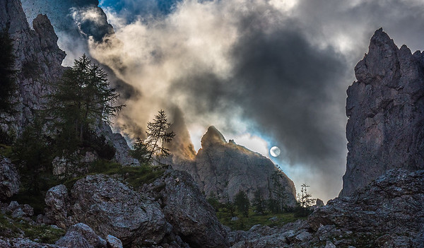 The mystics of the Dolomites - Italy