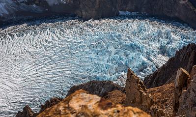 Twisting Glacier - Patagonia, Argentina