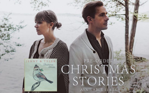 "Jenny & Tyler ""Christmas Stories"" promo"