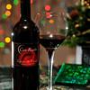 Holiday Wine Advertisement