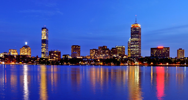 Boston from across the Charles River