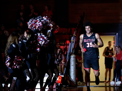 October 23rd 2018 - Redhawk Madness - Students gather in the Connelly Center to celebrate the kickoff of the Seattle U basketball season.   Photo by: Winston O'Neil