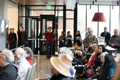 November 16th - Vi Hilbert Building Opening Ceremony - Family and friends of Vi Hilbert gather in Seattle Universities Vi Hilbert Hall to celebrate its opening and to share some stories of Vi.   Photos by Winston O'Neil