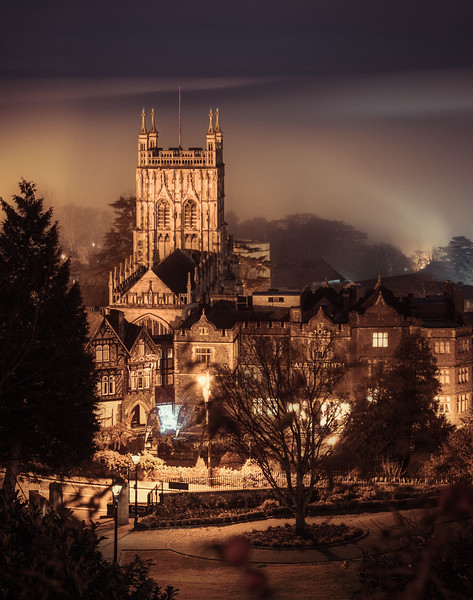In and out of Clouds -Great Malvern Priory