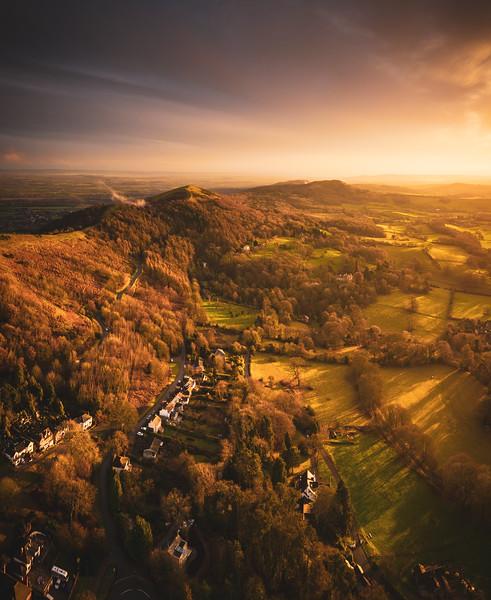 Malvern Hills and Winter Skies - by Jan Sedlacek - www.digitlight.co.uk - by Jan Sedlacek - www.digitlight.co.uk