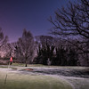 Night at the Frozen Golf Course