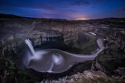 Palouse Falls Smiling Whale