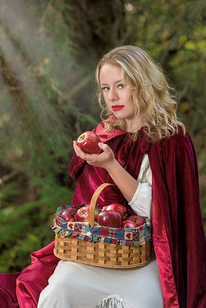 Red Riding Hood Shoot 2016  Model Bethany Lucas Cathedral State Park, WV