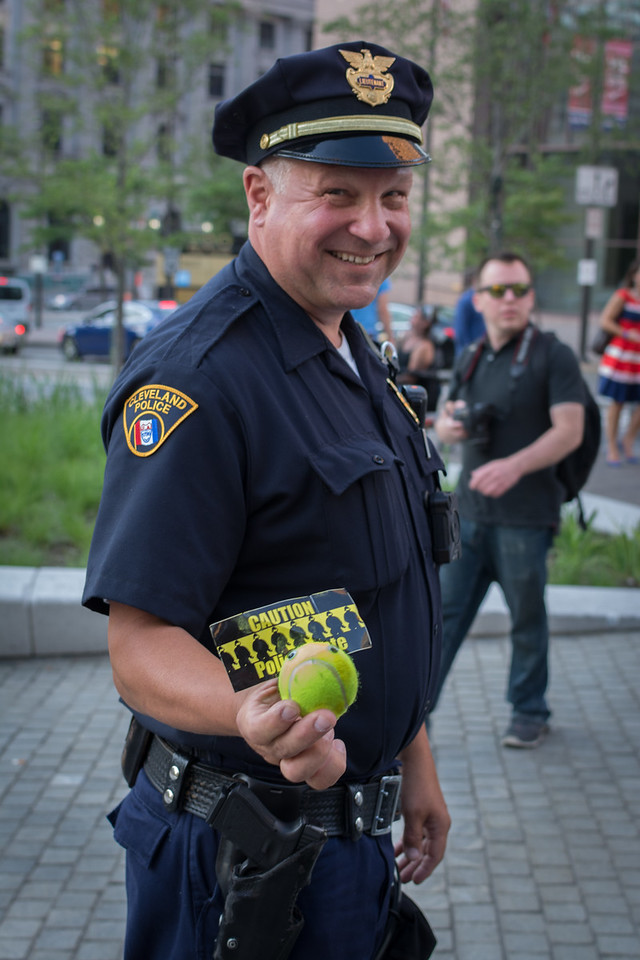 Confiscated Tennis Ball