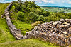Hadrian's Wall at Walltown Crags, England (MRP-132)
