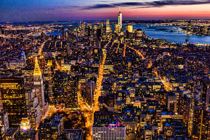 View from Empire State Building, New York, NY (MRP-157)