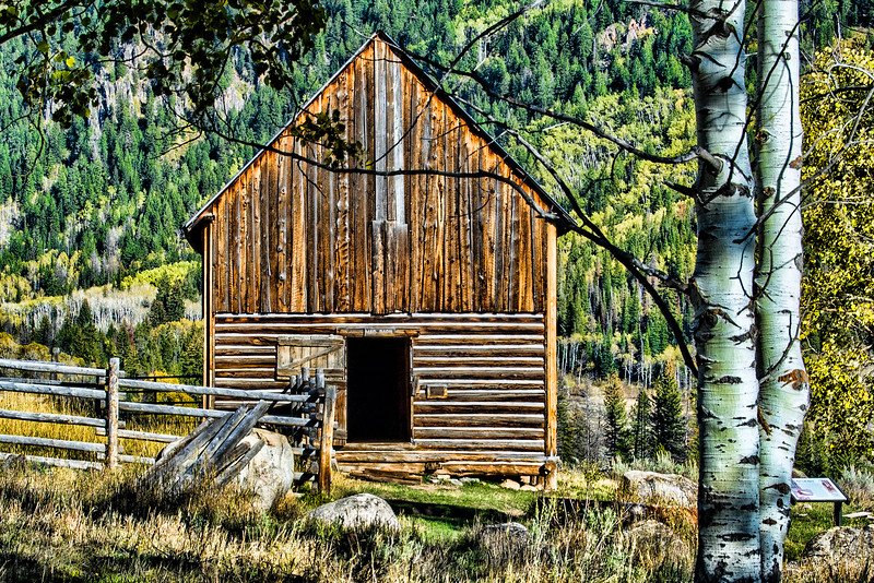 Abandoned Building, Routt County, near Steamboat, CO (MRP-102)
