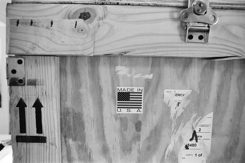 Freight from USA (Tri-X 400 film)