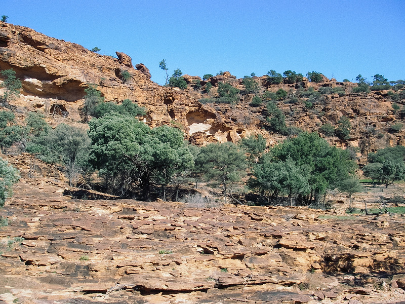Mootwingee National Park, near Broken Hill.  Aboriginal Ceremony Grounds.