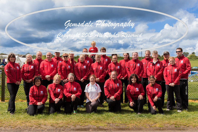 Agility England Team photo call