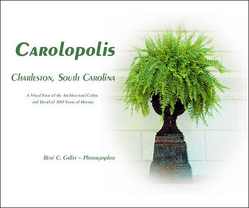 'CAROLOPOLIS'   A visual tour of the architectural color and detail   of the historical homes and gardens of Charleston, South Carolina  Published June, 2011   (120 pages, museum quality, luster paper, color )   Preview this book now