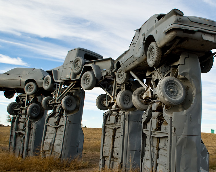 Carhenge (Alliance, Nebraska; 2007-11-10)