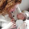 Client portrait: Grammy nominee with first child
