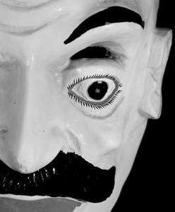 'Mask Series #5'(monochrome)