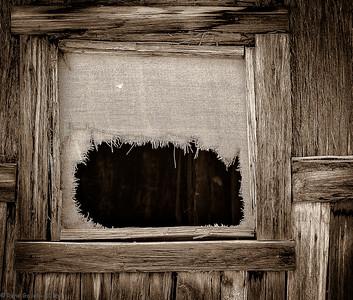 'Worn Curtains'