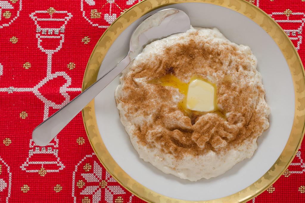 Rice porridge (Risengrød)