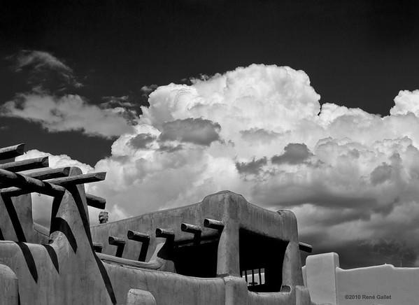 """<center><h2>' New Mexico Sky '</h2>Santa FE, NM   12""""x16"""", Luster paper <em>limited edition of 100</em>"""