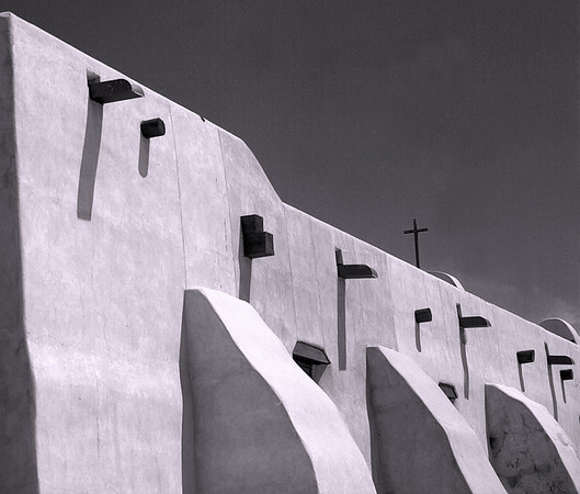 <center><h2>'Adobe Butresses'</h2>Rancho de Taos, NM </center>