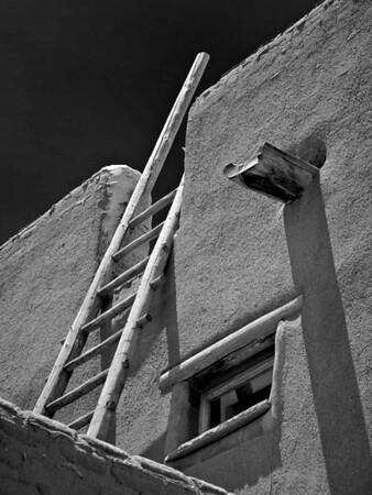 "<center><h2>'Pubelo Ladder'. </h2>Pojoaque Pueblo, NM   12""x16"", Luster paper <em>limited edition of 100</em></center>"