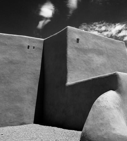 "<center><h2>'San Francisco de Asis series - #5'. </h2>Rancho de Taos, NM   12""x16"", Luster paper <em>limited edition of 100</em></center>"