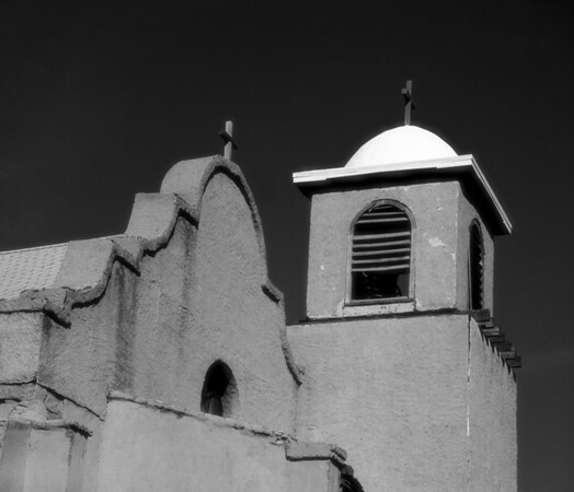 <center><h2>'Mission at Noon' </h2>(near) Lami, NM <em>infrared</em></center>