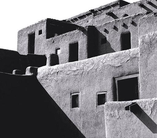 <center><h2>'Taos Pueblo - 3PM'</h2>Taos Pubelo, NM</center>