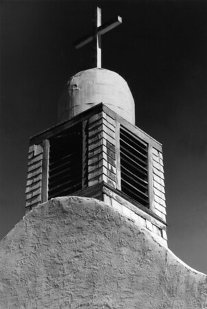 <center><h2>'Abandon Chapel - Steeple View'</h2> near Grants, NM</center>