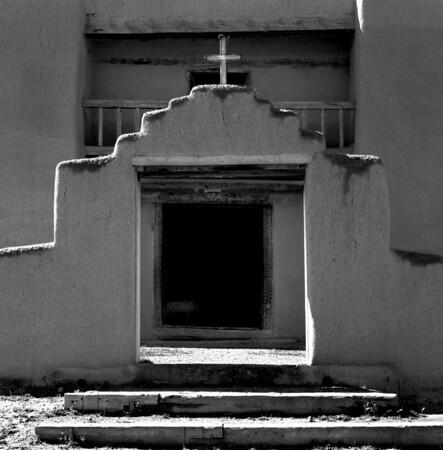 <center><h2>'St Jerome Chapel' </h2>Taos Pueblo, NM<em> (circa 1850)</em></center>