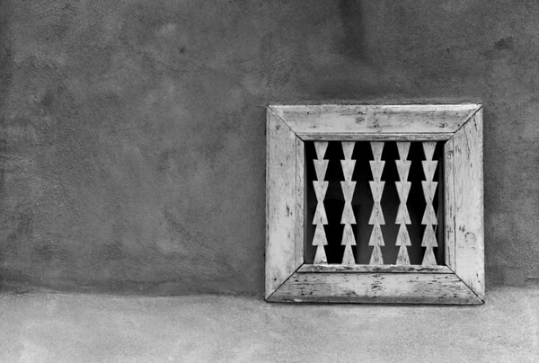 <center><h2>'Window Grill'</h2> San Ildefonso Pueblo, New Mexico</center>